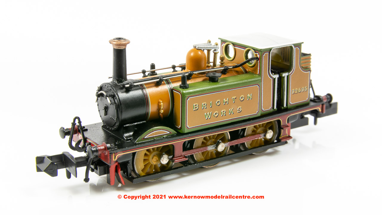2S-012-015 Dapol 0-6-0 Terrier A1X Steam Locomotive number 32635 Image